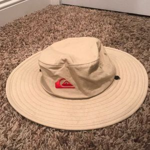 Tan quicksilver safari hat